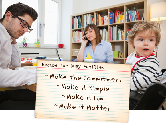 Recipe for Busy Families
