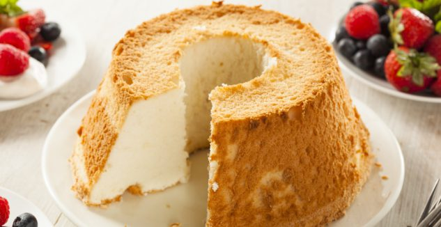 Angel food cake lime