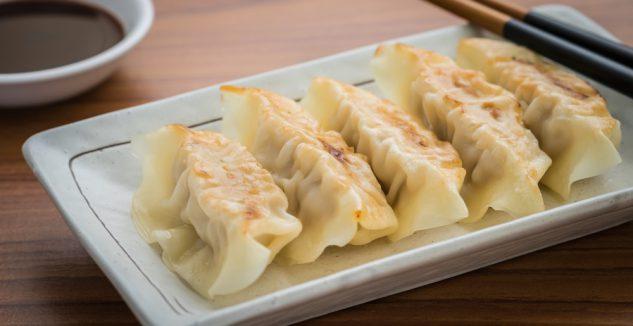 Origami dumplings