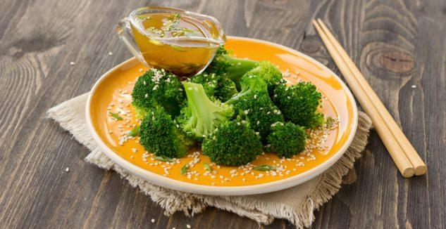Sesame broccoli salad