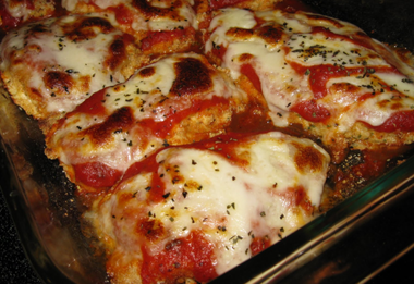 how to make chicken parmesan in oven