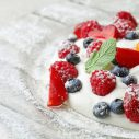 whipped cream berries