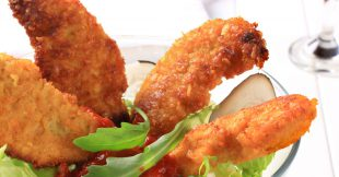 Parmesan-Crusted Chicken Tenders