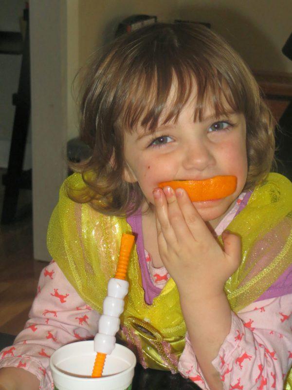 KatieLovingSmoothies oranges and princesses