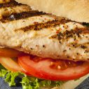 Easy grilled chicken sandwich