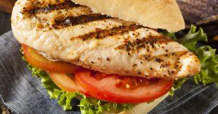 Easy Grilled Chicken Sandwiches