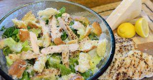 Dress-it-in-a-bowl Caesar Salad