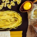 Lemon and egg pasta