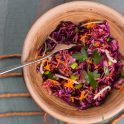 Multicolored Slaw Salad