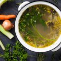slow cook vegetable stock
