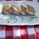 Berry Chocolate Ice Cream Sandwiches