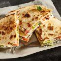 Baked Veggie quesadillas