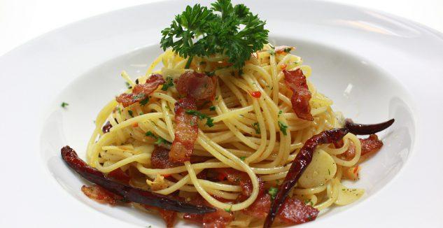 Luca's Pancetta Pasta