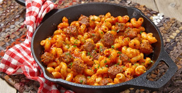 Chef Nate's Sausage Fusilli