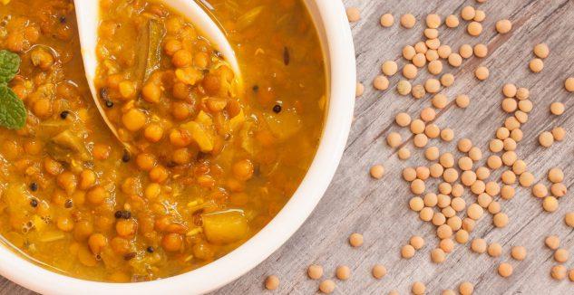 Corn and Turkey Meatball Lentil Soup