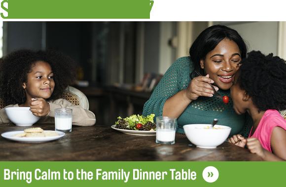Family Dinner Newsletter