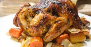 Masala Spiced Roast Chicken