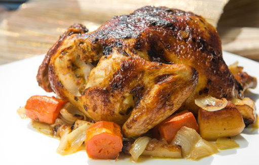Masala Spiced Roast Chicken