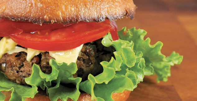 Half-Veggie Burgers
