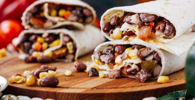 Soft Black Bean Tacos